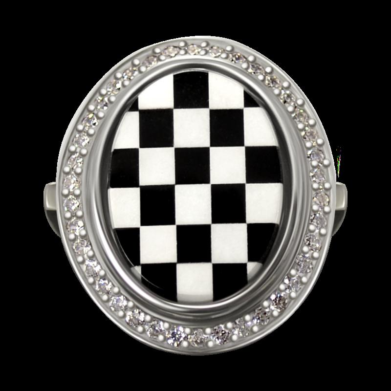 кольцо SUPR14 украшения Dzhanelli Jewellery House