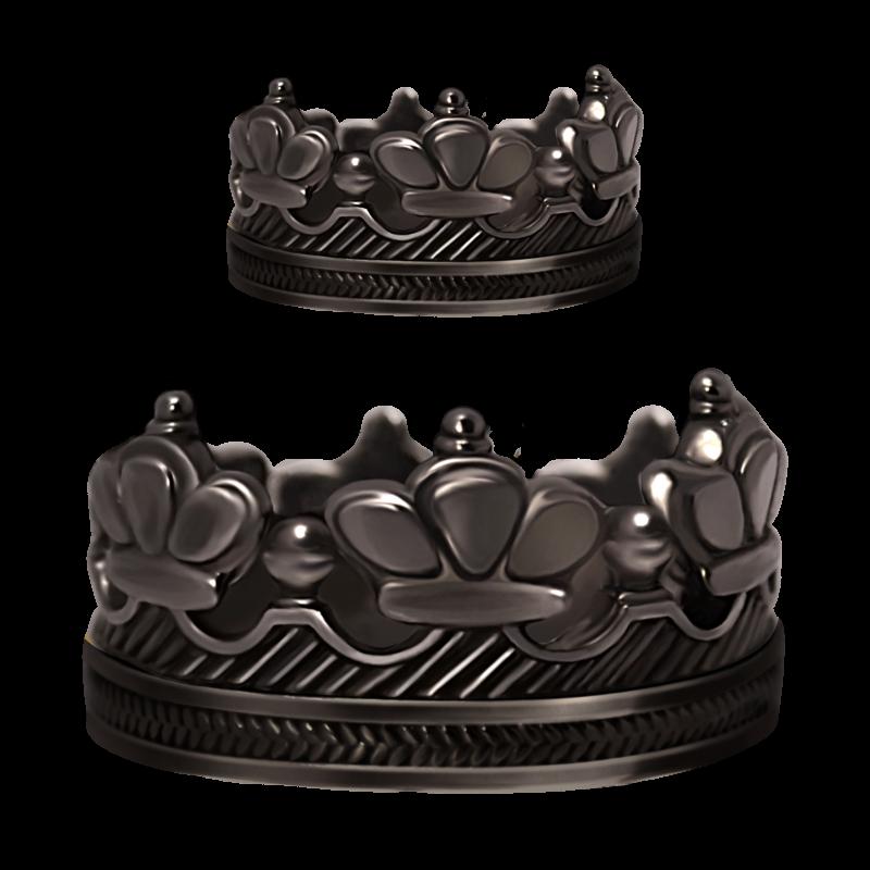 комплект из двух колец SV1 украшения Dzhanelli Jewellery House