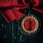 Брошь PRIMA украшения Dzhanelli Jewellery House