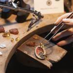 Брошь BUFET украшения Dzhanelli Jewellery House