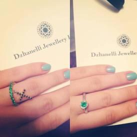 кольцо R12 украшения Dzhanelli Jewellery House