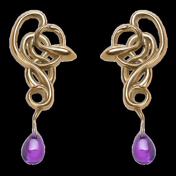 серьги SE-6 украшения Dzhanelli Jewellery House