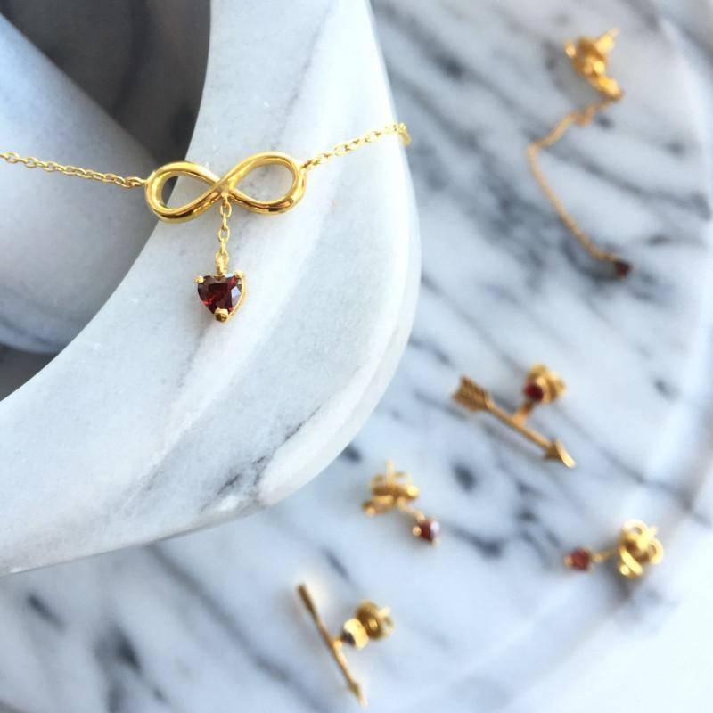колье Бесконечность украшения Dzhanelli Jewellery House