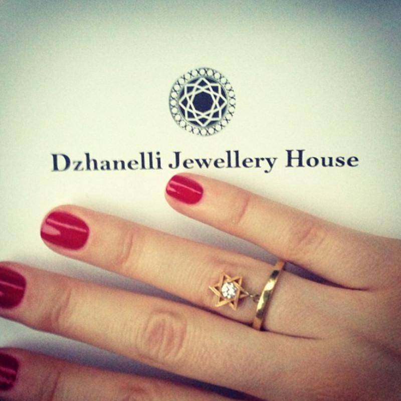 кольцо R16 украшения Dzhanelli Jewellery House