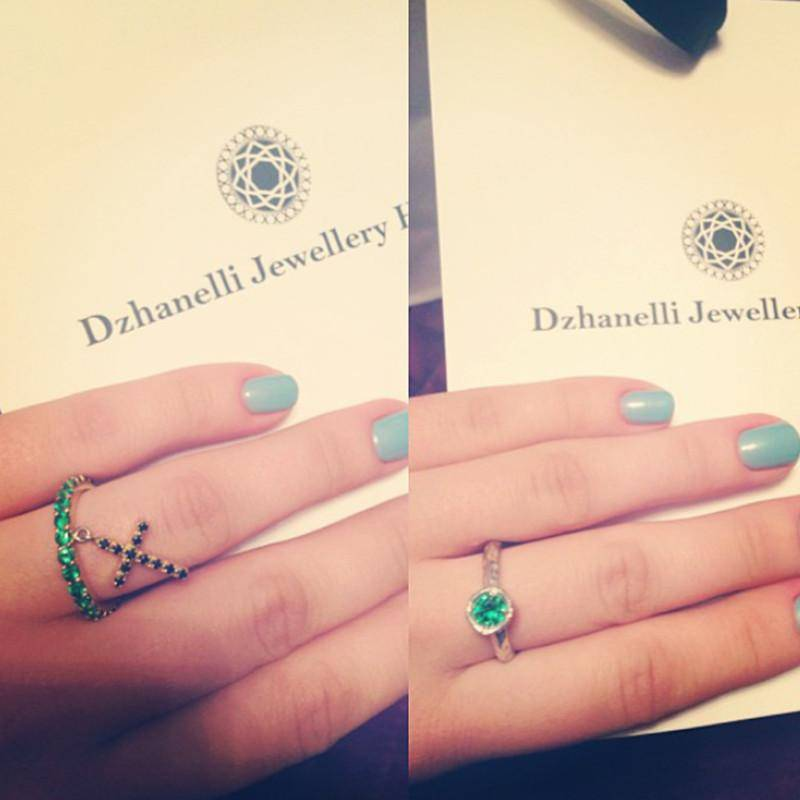 кольцо R12 украшения Dzhanelli Jewellery House