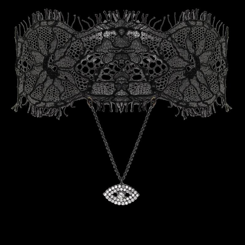 чокер «Глаз» украшения Dzhanelli Jewellery House