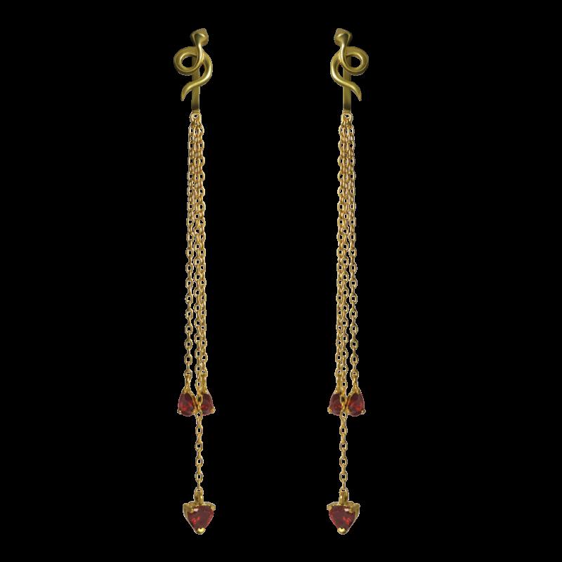 серьги LS-7  (Копия) украшения Dzhanelli Jewellery House