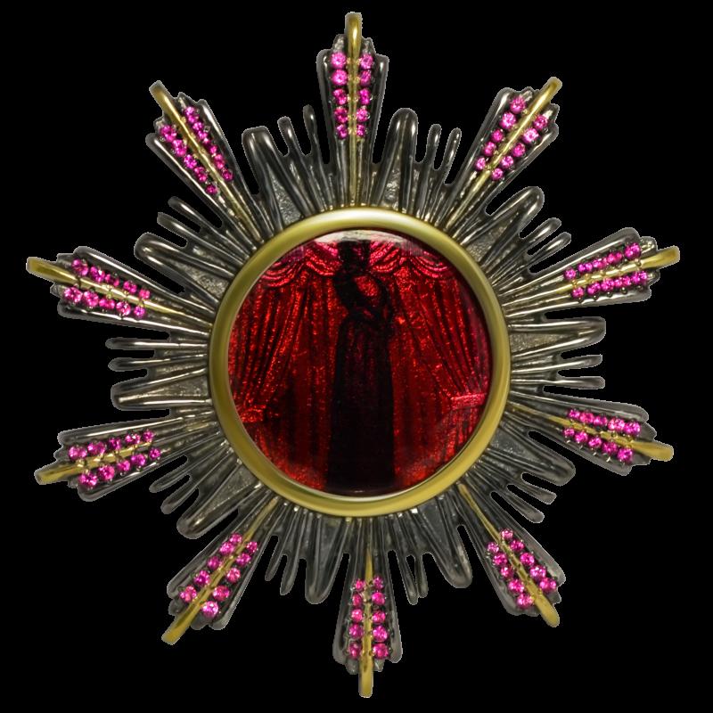 Брошь ORDEN S украшения Dzhanelli Jewellery House