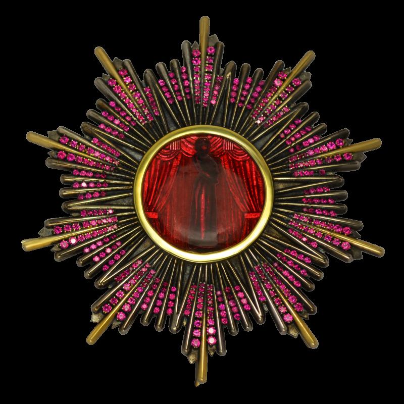 Брошь ORDEN украшения Dzhanelli Jewellery House