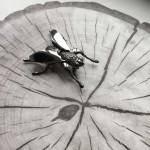 Брошь «Муха» украшения Dzhanelli Jewellery House