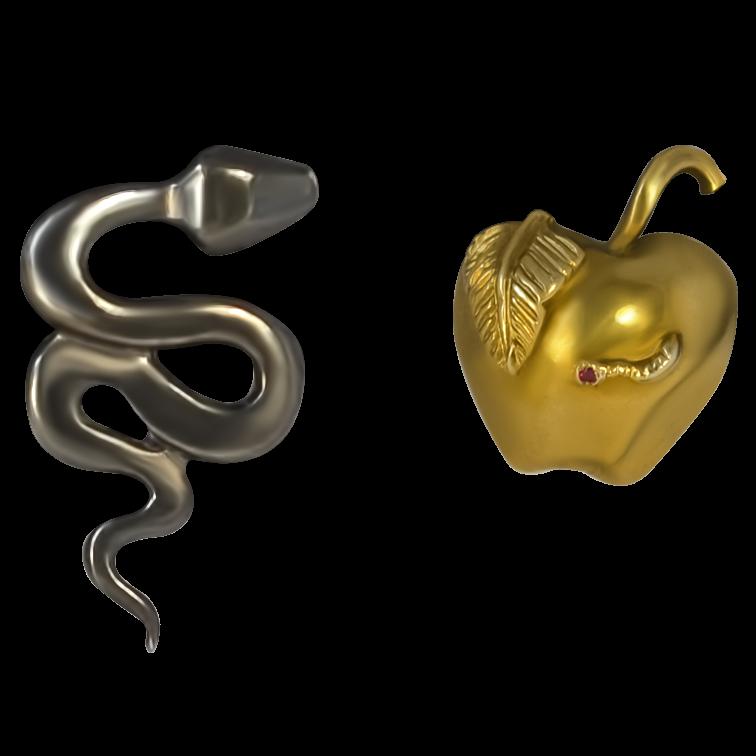 серьги Бесконечность  (Копия) украшения Dzhanelli Jewellery House