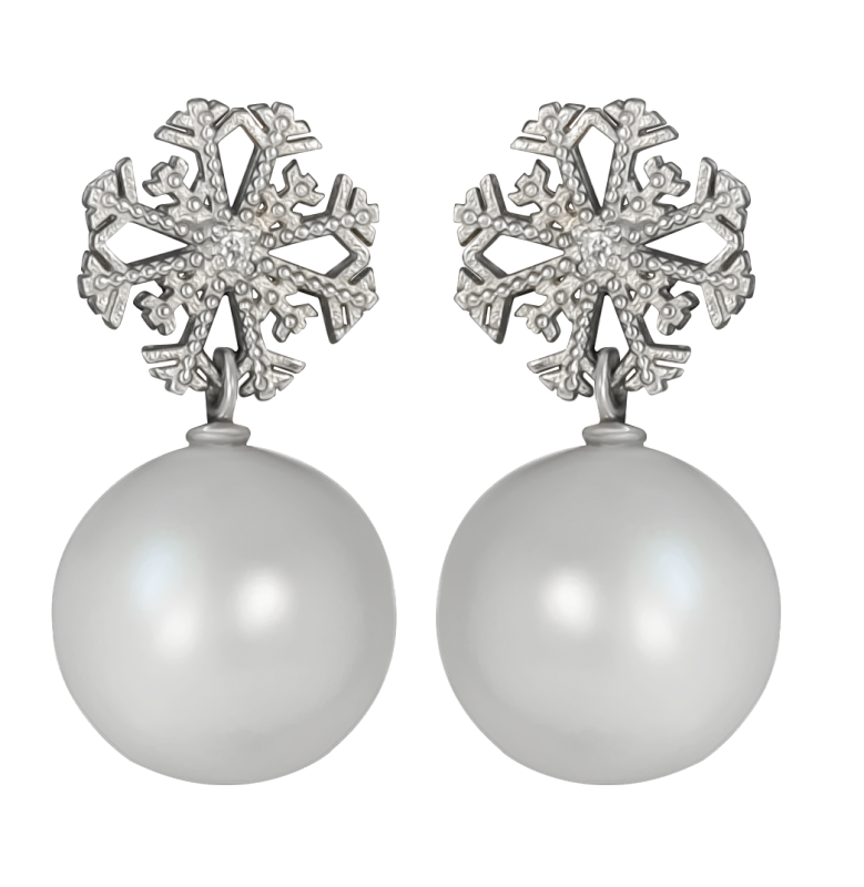Snowflake украшения Dzhanelli Jewellery House