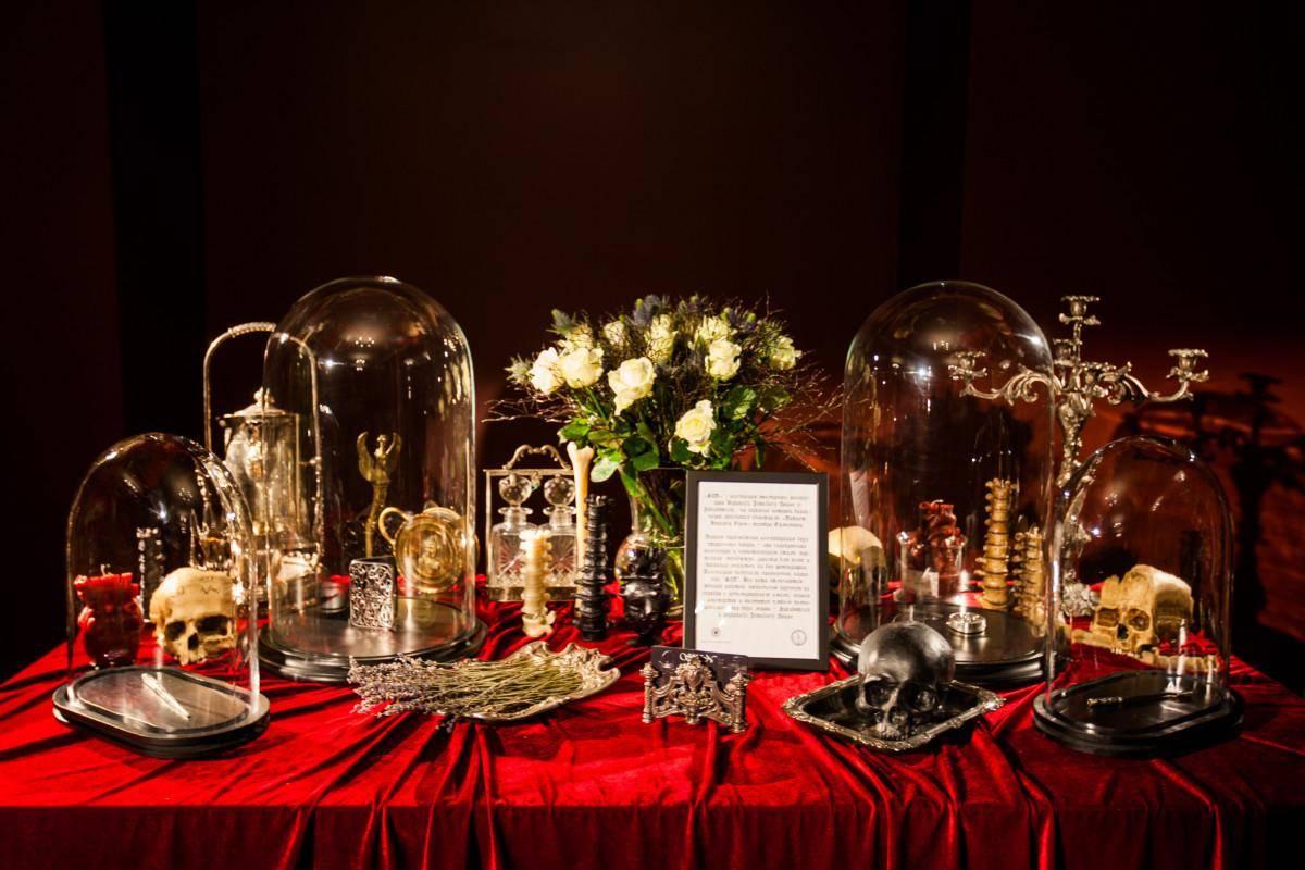 Презентация коллекции SIN в театре М.Н. Ермоловой украшения Dzhanelli Jewellery House