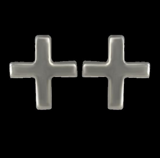 Серьги «Крест» украшения Dzhanelli Jewellery House