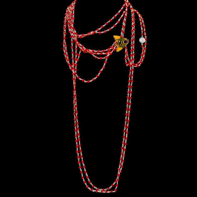 Сотуар из халцедон украшения Dzhanelli Jewellery House