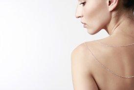 Колье с бриллиантом украшения Dzhanelli Jewellery House