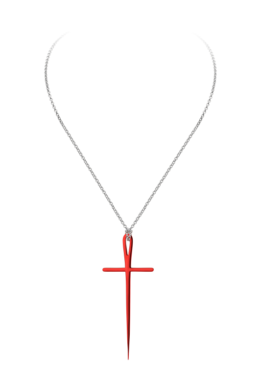 Крест на цепи украшения Dzhanelli Jewellery House