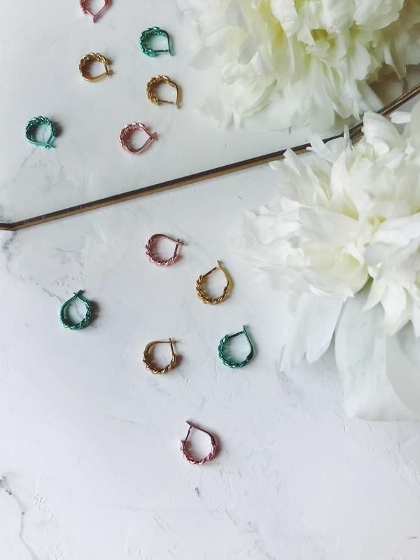 Серьги «изумруд» украшения Dzhanelli Jewellery House
