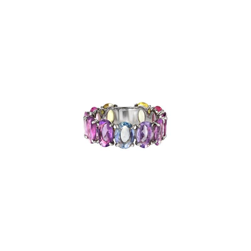 Кольцо с цветными сапфирами украшения Dzhanelli Jewellery House