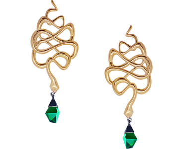 earrings Serpentes SE4
