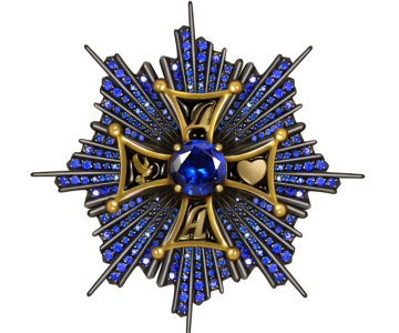 Brooch The order of friendship